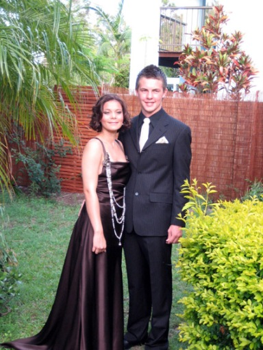 Teea and Nathaniel before the Formal